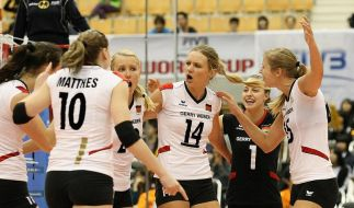 Volleyball-Frauen: Finaler Kraftakt für Olympia (Foto)
