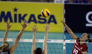 Volleyball-Frauen starten mit Niederlage in Grand Prix (Foto)