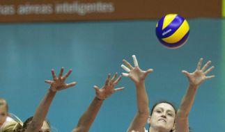 Volleyball-Frauen weiter im Rennen um Endrunde (Foto)