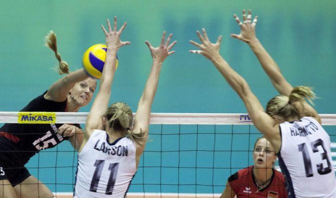 Volleyballerinnen verlieren zweites Grand-Prix-Spiel (Foto)