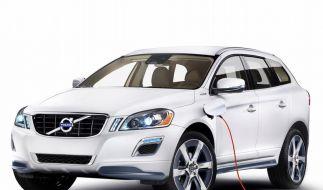Volvo zeigt in Detroit XC60 mit Plug-in-Hybrid (Foto)