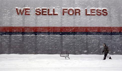 Vom Schnee verweht (Foto)
