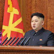 Von Annäherung zu Androhung: In seiner Neujahrsansprache hat Koreas Machthaber Kim Jong Un noch von Friedenswünschen gesprochen.