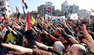 Vor Ankunft der Beobachter noch Massaker in Syrien (Foto)