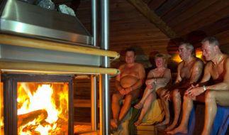 Vor der Sauna gründlich duschen (Foto)
