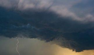 Vor Gewittern, Starkregen, Hagel und teils heftigen Sturmböen in der kommenden Woche warnte auch der Deutsche Wetterdienst. (Foto)