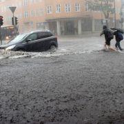 Schwere Gewitter! HIER herrscht Unwetter-Gefahr (Foto)
