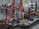 Vorbereitungen für Schiffsbergung kommen voran (Foto)