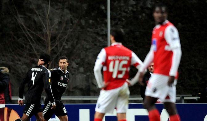 Vorjahresfinalist Braga in Europa League vor Aus (Foto)
