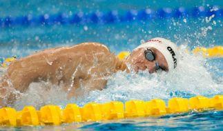 Vorlauf: Biedermann vor Phelps und hinter Lochte (Foto)
