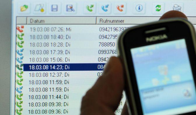 Vorratsdatenspeicherung (Foto)