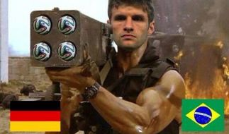 Vorsicht Argentinien/Niederlande: Terminator Müller hat sich noch ein paar Schuss aufgespart! (Foto)