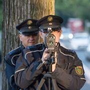 Vorsicht, Blitzer! Am Donnerstag macht die Polizei wieder Jagd auf Raser. (Foto)