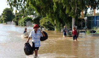 Vorsichtiges Aufatmen in Rockhampton (Foto)