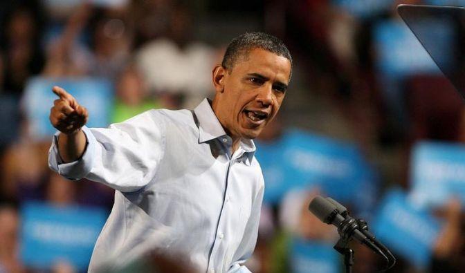 «Vorwärts, Amerika»: Obama läutet Wahlkampf ein (Foto)