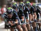 Vuelta: Movistar gewinnt Auftakt-Mannschaftszeitfahren (Foto)