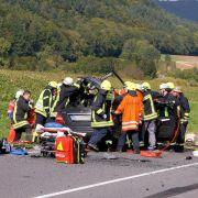 Vukcevic musste aus dem total zerstörten Fahrzeugwrack geborgen werden.