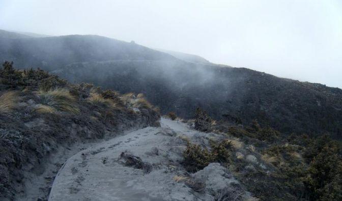 Vulkan Tongariro nach Eruption mit neuen Rissen (Foto)