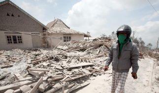 Vulkan und Tsunami: Mehr als 300 Tote in Indonesien (Foto)