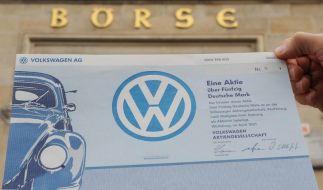 VW-Aktie steigt weiter - 1000 Euro erreicht (Foto)