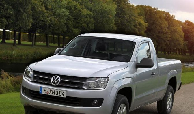 VW Amarok auch mit Einzelkabine erhältlich (Foto)