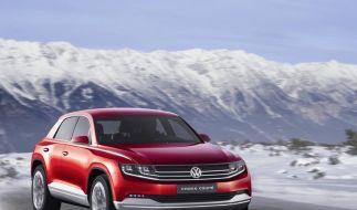 VW CrossCoupé benötigt als Diesel-Hybrid nur 1,8 Liter (Foto)