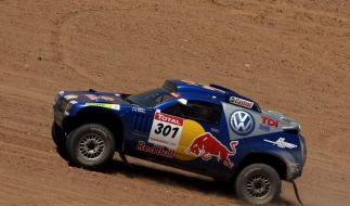 VW dominiert Dakar in Südamerika - Neues Unglück (Foto)