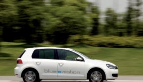 VW Golf blue-e-motion (Foto)