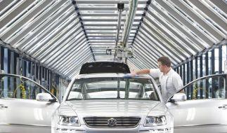 VW-Konzern fährt neuen Jahresrekord ein (Foto)