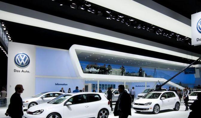 VW kurbelt Konzernabsatz erneut an (Foto)