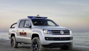 VW-Pickup, die Dritte: Der Amarok soll im Gegensatz zu seinen Ahnen ein Renner werden. (Foto)