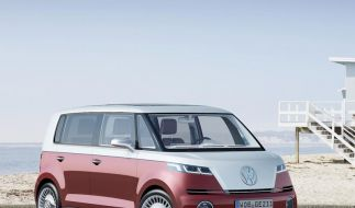VW stellt Bulli-Studie als «Touran-Bruder» vor (Foto)