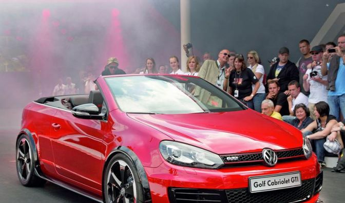 VW-Tuninggipfel: Golf Power-Cabrio feiert Premiere (Foto)