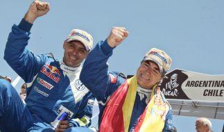 VW will Hattrick bei Rallye Dakar (Foto)