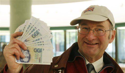 Währungswechsel in Deutschland (Foto)