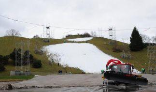 Wärme und Regen: Ski-Weltcup in München fällt aus (Foto)