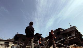 Waffenruhe im Nahen Osten weiter missachtet (Foto)