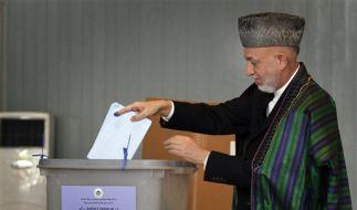 Wahl in Afghanistan (Foto)