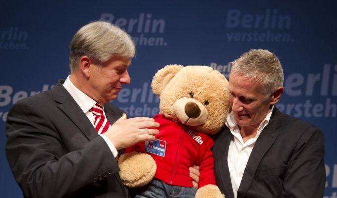 Wahl zum Berliner Abgeordnetenhaus: Wahlparty SPD (Foto)
