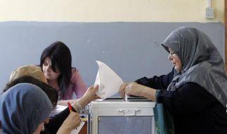 Wahlen: Kein islamistischer Erdrutsch in Algerien (Foto)