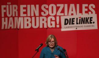 Wahlkampf in Hamburg (Foto)