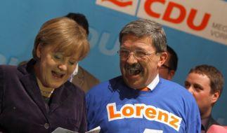 Wahlkampf in MV (Foto)