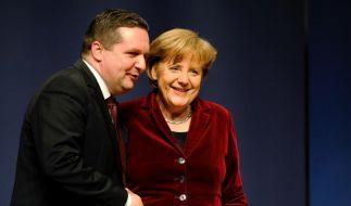 Wahlkampfabschluss der CDU in Baden-Wuerttemberg (Foto)