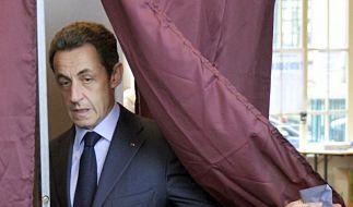 Wahlniederlage für Sarkozys Lager (Foto)