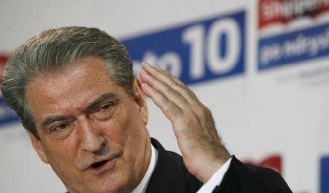 Wahlsieger in Albanien: Ministerpräsident Sali Berisha. (Foto)