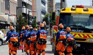 Wahrscheinlich mehr als 200 Erdbeben-Tote (Foto)
