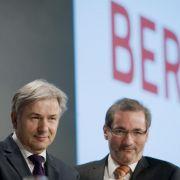 Waren wegen Terminproblemen nicht anwesend: Klaus Wowereit (links) und Matthias Platzeck (beide SPD).