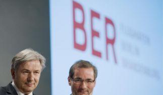 Waren wegen Terminproblemen nicht anwesend: Klaus Wowereit (links) und Matthias Platzeck (beide SPD). (Foto)