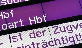 Warnstreik: Die Rechte der Bahn-Reisenden (Foto)