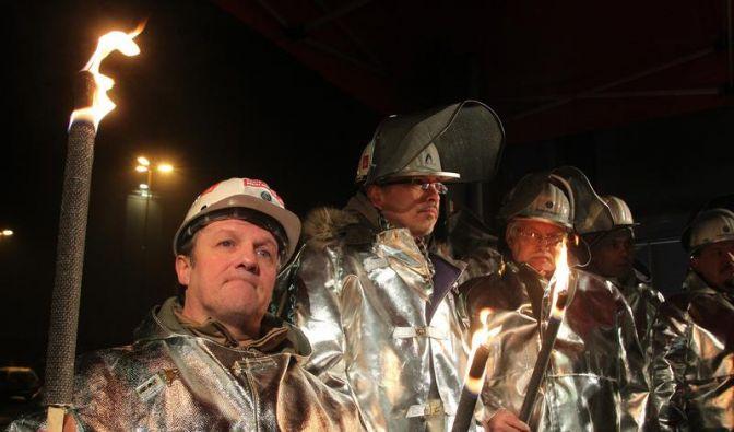 Warnstreiks in der Stahlindustrie NRW und Niedersachsen (Foto)